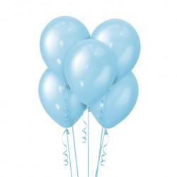 Набор из 5 шаров Blue Перламутр 30 см