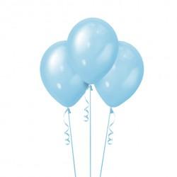 Набор из 3 шаров Blue Перламутр 30 см