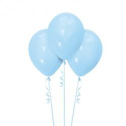 Набор из 3 шаров Light Blue Матовый 30 см