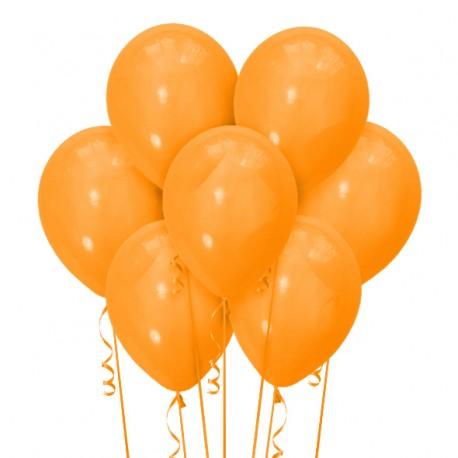 Набор из 7 шаров Orange Матовый 30 см