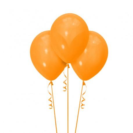 Набор из 3 шаров Orange Матовый 30 см
