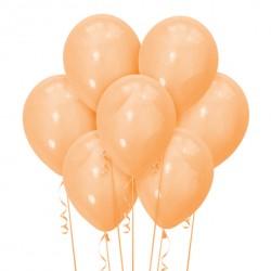 Набор из 7 шаров Orange Пастель Матовый 30 см