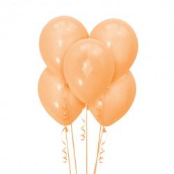 Набор из 5 шаров Orange Пастель Матовый 30 см