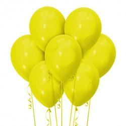 Набор из 7 шаров Yellow Матовый 30 см