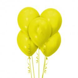 Набор из 5 шаров Yellow Матовый 30 см