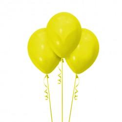 Набор из 3 шаров Yellow Матовый 30 см