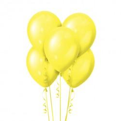 Набор из 5 шаров Yellow Металлик 30 см