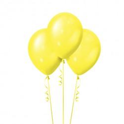 Набор из 3 шаров Yellow Металлик 30 см