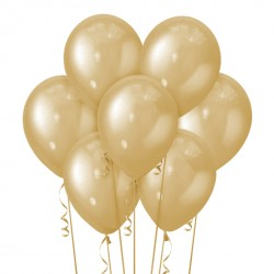 Набор из 7 шаров Gold Металлик 30 см