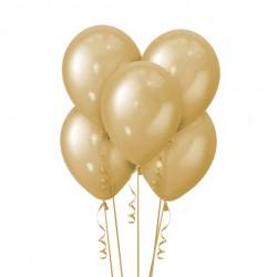 Набор из 5 шаров Gold Металлик 30 см