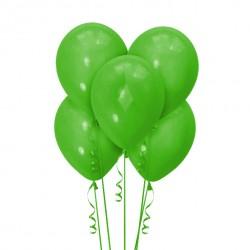 Набор из 5 шаров Dark Green Матовый 30 см