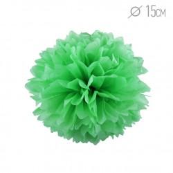 Помпон из бумаги Светло-зеленый 15см