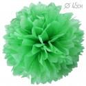 Помпон из бумаги 45 см светло-зеленый