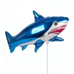 И 14 Акула (синий) / Shark / 1 шт / (Испания)