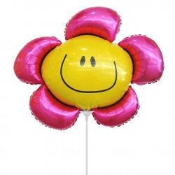 И 14 Цветочек фуксия (солнечная улыбка) / Flower 1 / 1 шт / (Испания)