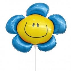 И 14 Цветочек синий (солнечная улыбка) / Flower 1 / 1 шт / (Испания)