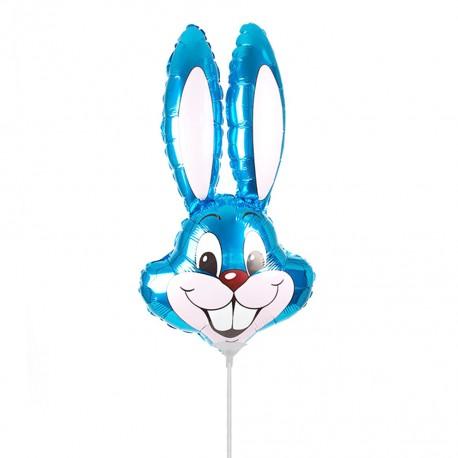 И 14 Заяц (синий) / Rabbit / 1 шт / (Испания)