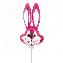 Заяц (фуксия) 35см / Rabbit