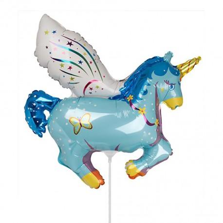 И 14 Единорог (синий) / Unicorn / 1 шт / (Испания)