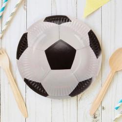 Тарелки Футбольный мяч, 9 дюймов, 6шт