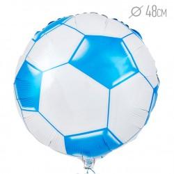 И 18 Круг Футбольный мяч (Синий) / Soccer Ball / 1 шт / (Испания)