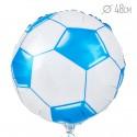 Шар Круг Футбольный мяч Синий 48см