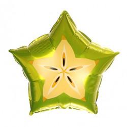 Шар (18''/46 см) Звезда, Карамбола, 1 шт.