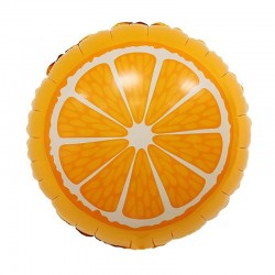 Шар (18''/46 см) Круг, Апельсин, Оранжевый, 1 шт.