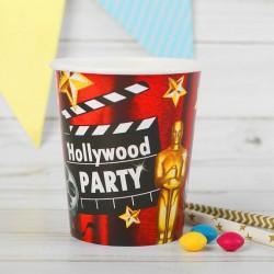 """Стакан бумажный """"Голивудская вечеринка"""" 250 мл."""