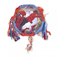 Пиньята Marvel Чел-Паук в городе с лентами