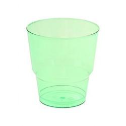Набор стаканов Зеленый кристалл 8шт