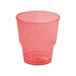 Набор стаканов Красный кристалл 8шт