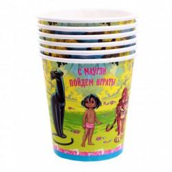 Набор стаканов Маугли 6 шт