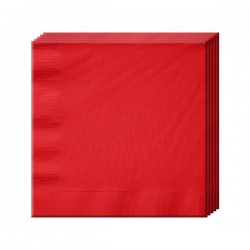 Салфетка Apple Red 33см 16шт/А