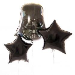 """Фонтан из шаров """"Темная сторона"""""""