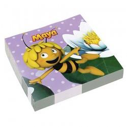Салфетка Пчелка Майя 33см 16шт