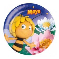 Набор тарелок Пчелка Майя 23см 8шт