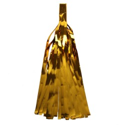 Помпон Кисточка 5 листов фольга золото