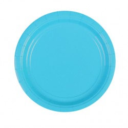 Набор тарелок Caribbean Blue 17см 8шт