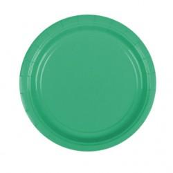Набор тарелок Festive Green 17см 8шт