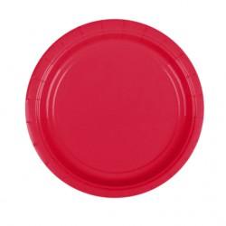 Набор тарелок Apple Red 17см 8шт