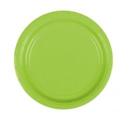 Набор тарелок Kiwi Green 17см 8шт
