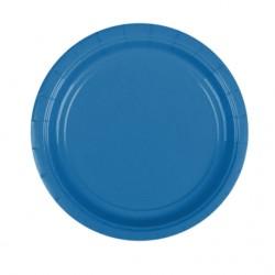 Набор тарелок Marine Blue 17см 8шт