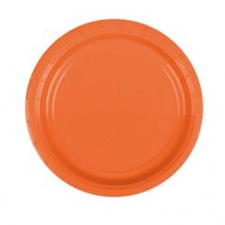 Набор тарелок Orange Peel 17см 8шт