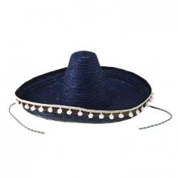 Шляпа сомбреро синяя