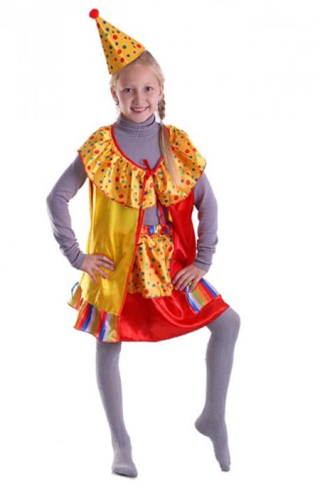 Карнавальный костюм Клоун 3 предмета размер 44-46 120 см