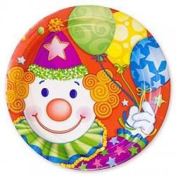 Набор тарелок Клоун 23см 8шт