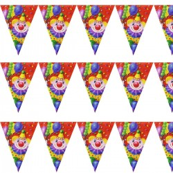 Гирлянда Клоун с шарами 360см