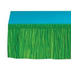 Юбка для стола Гавайи зеленая 15м