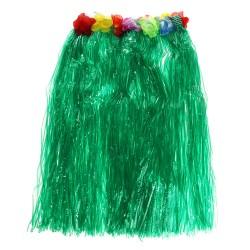 Гавайская юбка, цвет зеленый 60 см